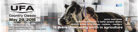 UFA Country Classic – biggest livestock show weekend in the County!