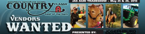 Agri Tradeshow in Josephburg – Vendors Wanted